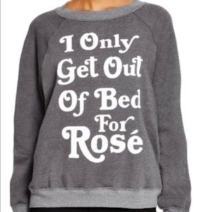 Wildfox Gray Sweatshirt Size XS